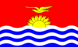 Vlag in huis